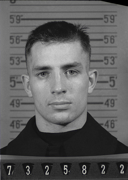 Naval Reserve Enlistment Photo of Jack Kerouac, 1943