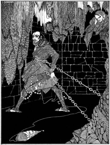 The Cask of Amontillado by Harry Clarke, 1919