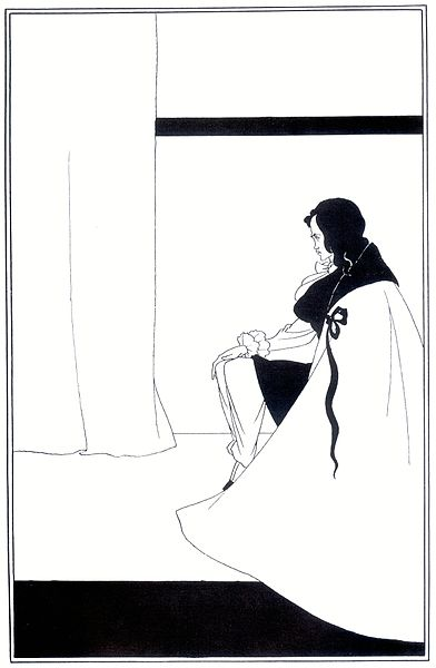 The Fall of the House of Usher by Aubrey Beardsley, 1894-1895