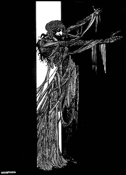 The Fall of the House of Usher by Harry Clarke, 1919