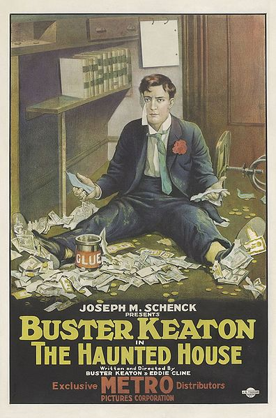 The Haunted House, starring Buster Keaton. 1921.