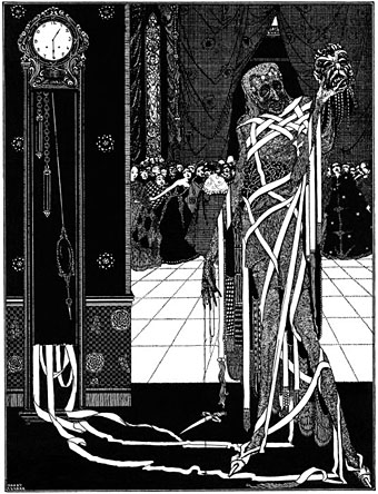 The Masque of the Red Death by Harry Clarke, 1919