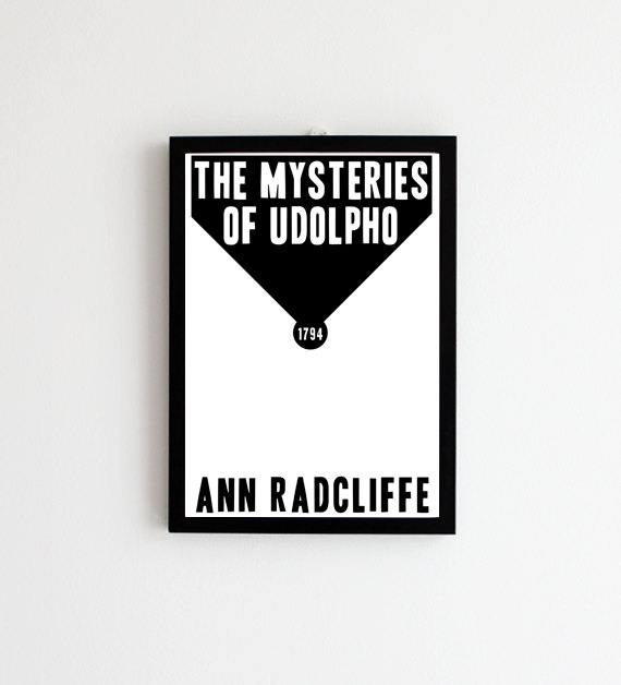 The Mysteries of Udolpho by Ann Radcliffe Print at Pomalia