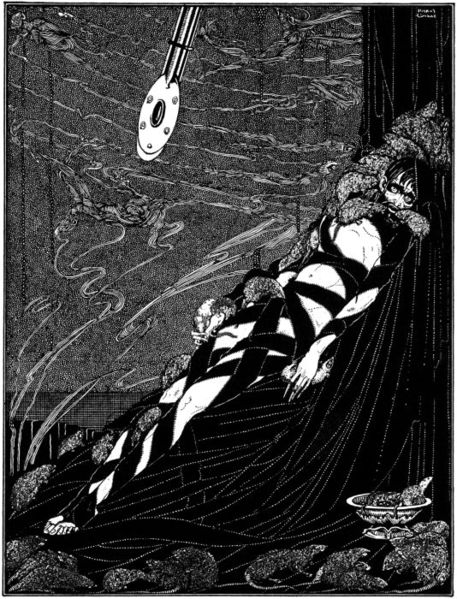 The Pit and the Pendulum by Harry Clarke, 1919