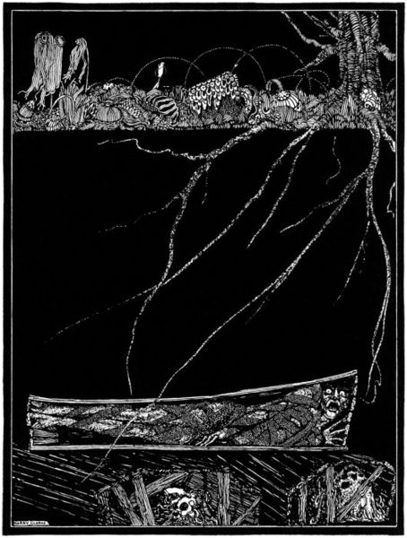 The Premature Burial by Harry Clarke, 1919