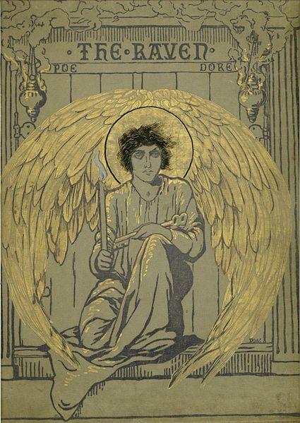 Gustav Doré's Cover Illustration for Edgar Allan Poe's The Raven, 1884