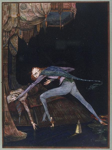 The Tell-Tale Heart by Harry Clarke, circa 1919