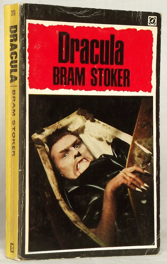 Vintage Paperback Dracula by Bram Stoker at Eager for Word