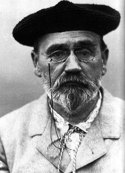 Émile Zola, 1902