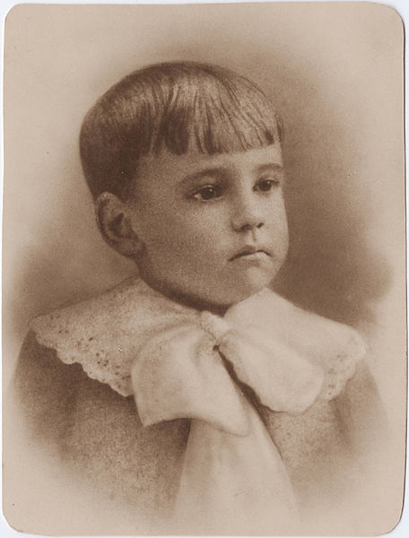 Eugene O'Neill as a Child