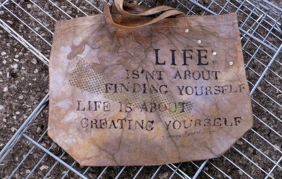 George Bernard Shaw Quote Tote by Bag Project