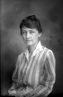 Georgia O'Keeffe, taken July 19, 1915
