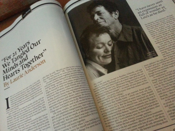 Laurie Anderson/Rolling Stone