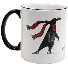 The Doubtful Guest (with scarf) Mug