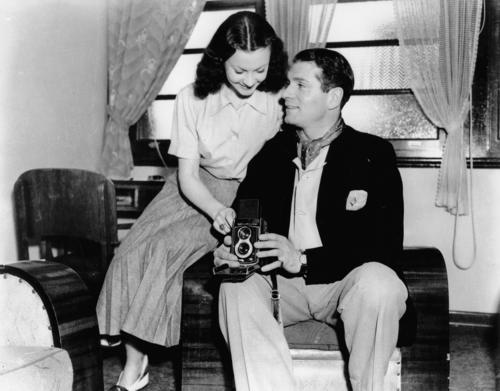 Vivien Leigh and Laurence Olivier, June 1948