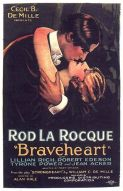 Rod La Rocque and Lillian Rich in Braveheart, 1925