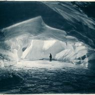 Cavern in an ice wall, near Commonwealth Bay