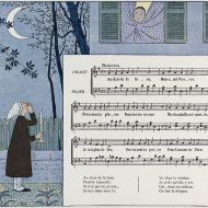 Au Clair de la Lune Children's Book, 1910s