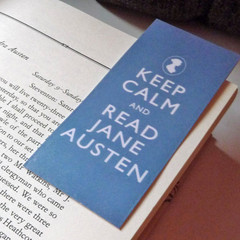 Bookmark-Keep Calm and Read Jane Austen