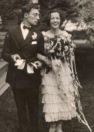Buster Keaton and Natalie Talmadge, May 31, 1921