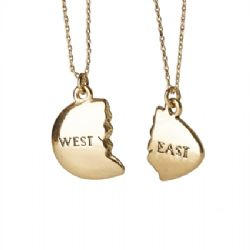 East and West Egg Bestie Necklace