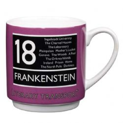 Frankenstein Literary Transport Mug