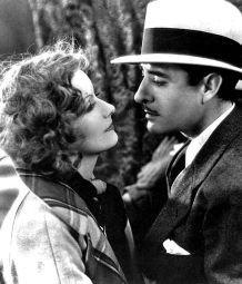 Garbo and Gilbert in A Woman of Affairs, 1928