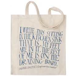 I Capture the Castle Strong Canvas Shopper