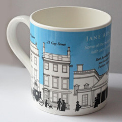 Jane Austen Places in Regency Bath Mug