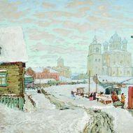 Old Pscov by Konstantin Gorbatov, 1913
