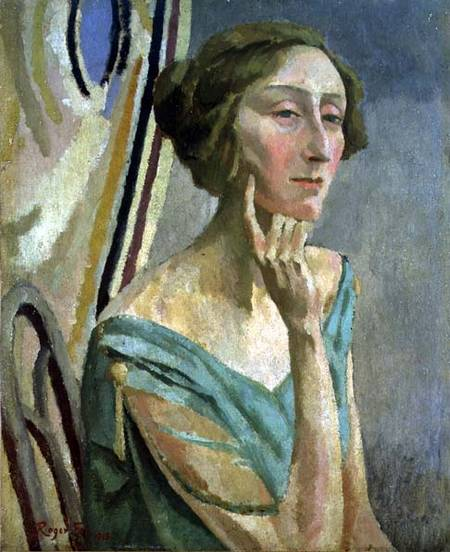 Edith Sitwell by Roger Fry, 1915