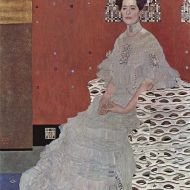 Portrait of Fritza Riedler by Gustav Klimt, 1906