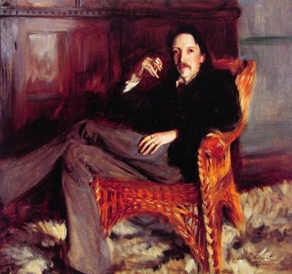 Portrait of Robert Louis Stevenson by John Singer Sargent, 1887