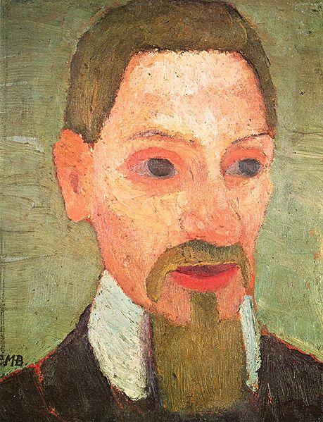 Rainer Maria Rilke by Paula Modersohn-Becker, 1906