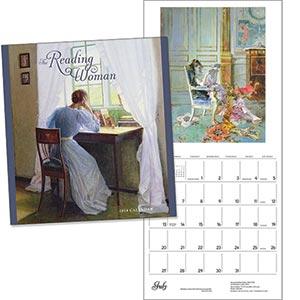 Reading Woman Wall Calendar