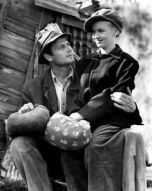 Joel McCrea and Veronica Lake in Sullivan's Travels, 1941