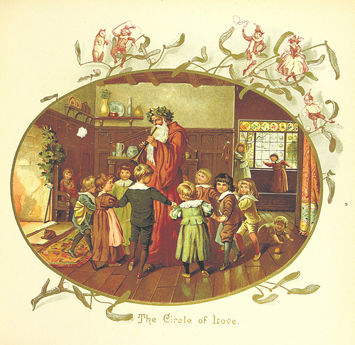 The Coming of Father Christmas, Page 17, by Eliza F. Manning