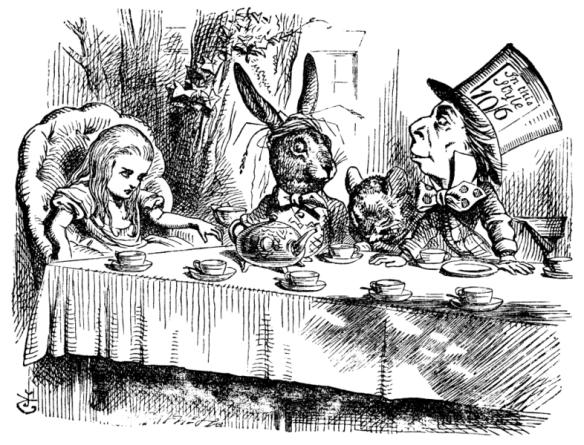 A Mad Tea-Party by Sir John Tenniel