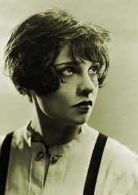 Anita Loos rocking her famous locks