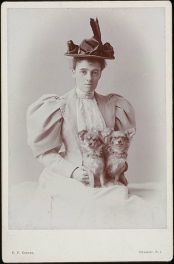 Edith Wharton by E.F. Cooper, circa 1889