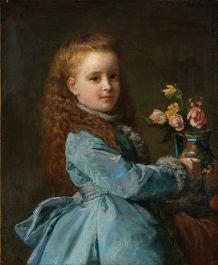 Edith Wharton by Edward Harrison May, 1870