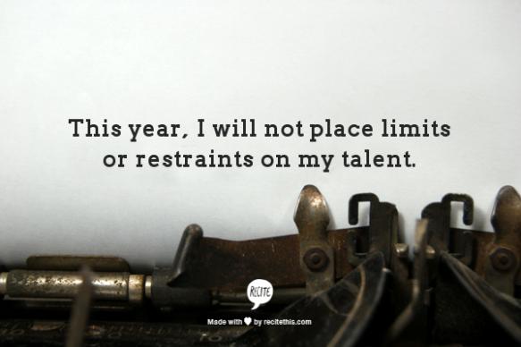 No Limits or Restraints