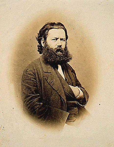 Henrik Ibsen, circa 1864