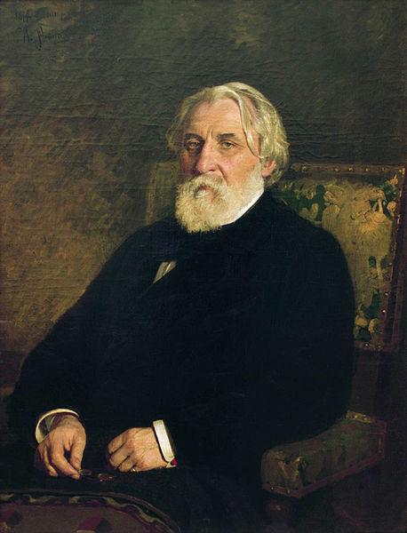 Ivan Turgenev by Ilya Repin, 1874