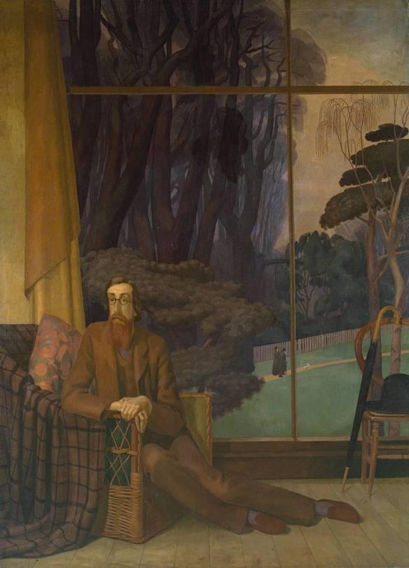 Lytton Strachey 1914 by Henry Lamb 1883-1960