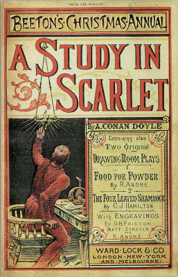 A Study in Scarlet artwork by David Henry Friston, for Beeton's Christmas Annual 1887