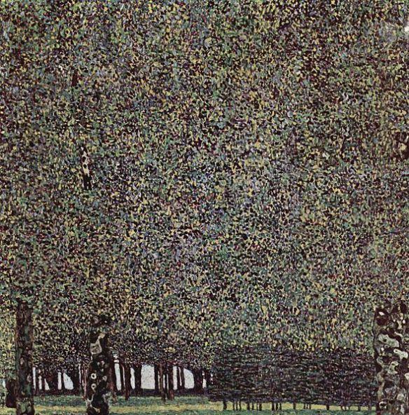 Der Park by Gustav Klimt, 1909-1910