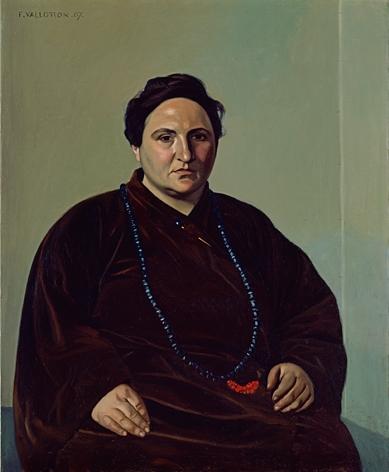 Gertrude Stein by Felix Vallotton, 1907