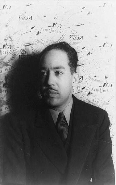 Langston Hughes by Carl Van Vechten, February 1936