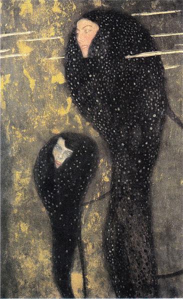 Nixen (Silberfische) by Gustav Klimt, circa 1899